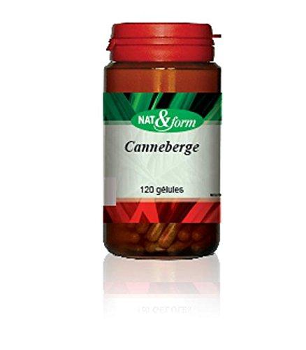 Canneberge - Cranberry 120 Gélules - Nat Et Form - Atlantic Nature