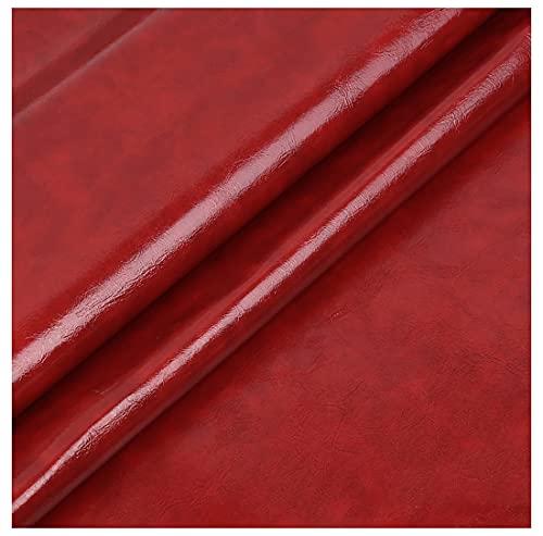 GERYUXA Polipiel Auxilios para Sofá Asiento De Coche Muebles Taller, Hecho A Mano, Suministros De Artesanía Auxilios para Sofá Asiento De Coche Muebles(Size:1.38x1m,Color:Vino Tinto)