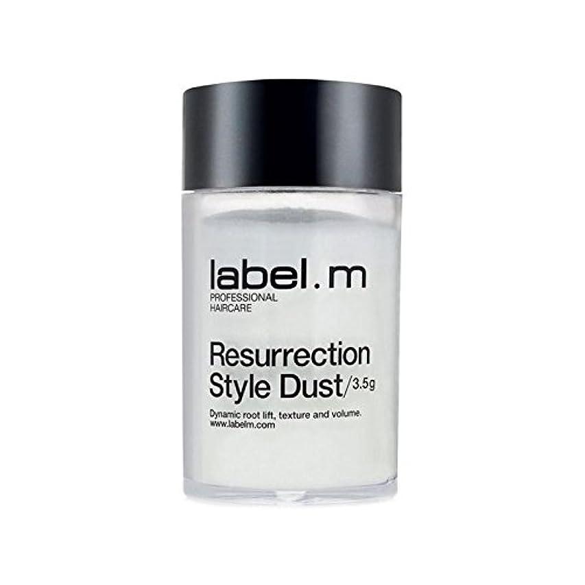 個人的な田舎あなたはLabel.M White Resurrection Style Dust (3.5G) (Pack of 6) - .白復活スタイルの塵(3.5グラム) x6 [並行輸入品]