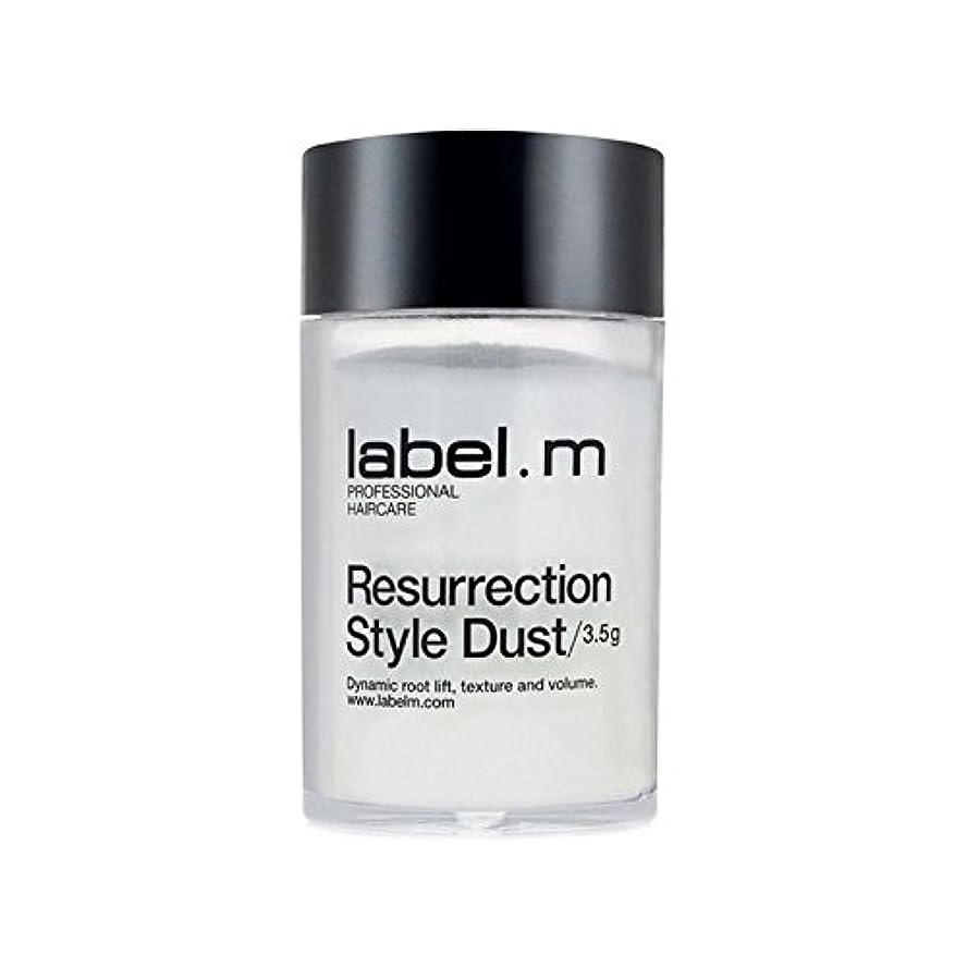 お金オーナメント換気する.白復活スタイルの塵(3.5グラム) x4 - Label.M White Resurrection Style Dust (3.5G) (Pack of 4) [並行輸入品]