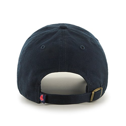 47 MLB Boston Red Sox Clean Up Baseball Cap, Blue (Navy), One Size