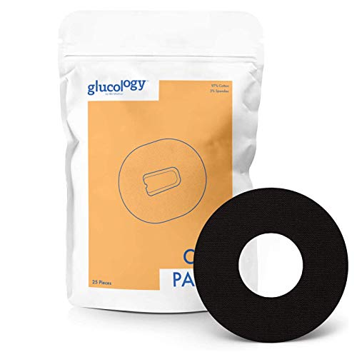 25 x CGM Patches Freestyle Libre   Adhesive Patch   Pre-Cut CGM Patches   Premium Continuous Glucose Monitor Protection   Waterproof Tape   Diabetes and Diabetic Supplies   Black