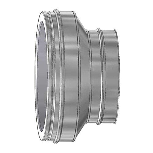 Ø 180 mm Schiedel ICS Erweiterung Doppelwandig ICS - Ofenanschluss Ø 150 mm