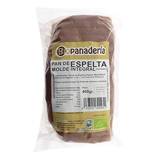 Biopanadería Pan de Molde Ecológico Elaborado con Masa Madre Natural (Espelta Integral)