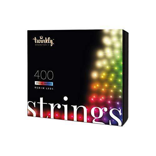 Festive Lights - Twinkly Génération II Guirlande Lumineuse Connectée (400 LED) pour...