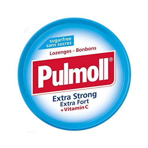 PULMOLL Pastillen-Set, extra stark, Minze, 10 x 45 g