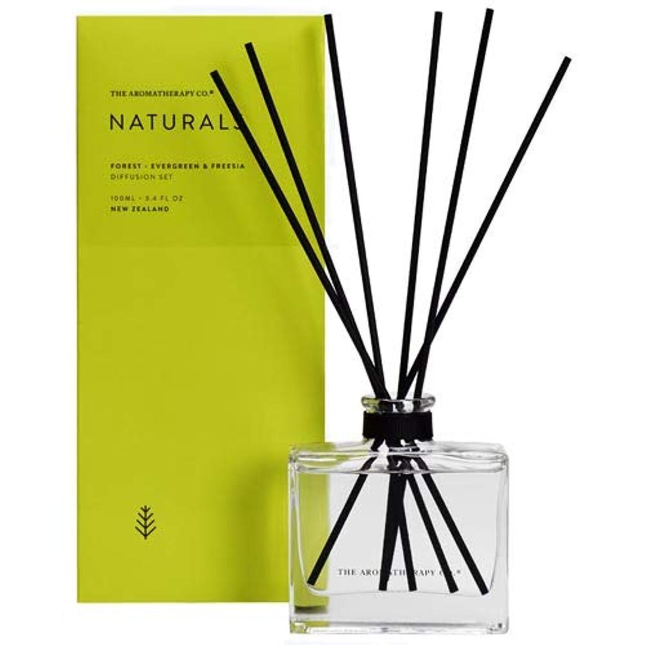 兵士重要な主婦アロマセラピーカンパニー(Aromatherapy Company) new NATURALS ナチュラルズ Diffusion Stick ディフュージョンスティック Forest フォレスト(森林) Evergreen & Freesia エバーグリーン&フリージア