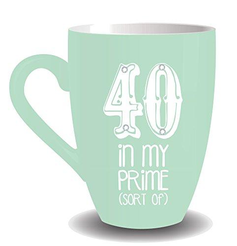 BOXER 40 40e Anniversaire Sorbet Fizz Mug avec Cristaux – dans MA Prime (Type de)