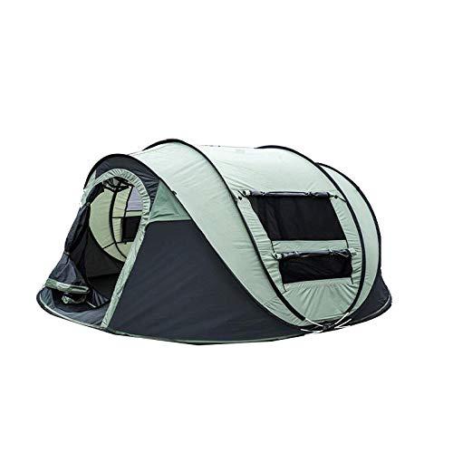 thematys Pop Up Wurfzelt wasserdicht für 4-5 Personen - Robustes, ultraleichtes Igluzelt perfekt geeignet für Camping, Outdoor & Festival (Style 1)