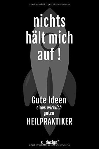 Notizbuch für Heilpraktiker: Originelle Geschenk-Idee [120 Seiten kariertes blanko Papier]
