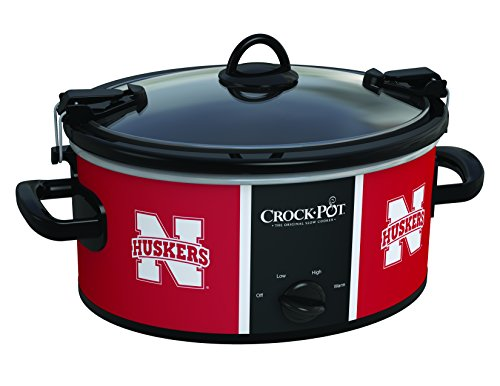 Buy Discount Crock-Pot Nebraska Cornhuskers Collegiate 6-Quart Cook & Carry Slow Cooker