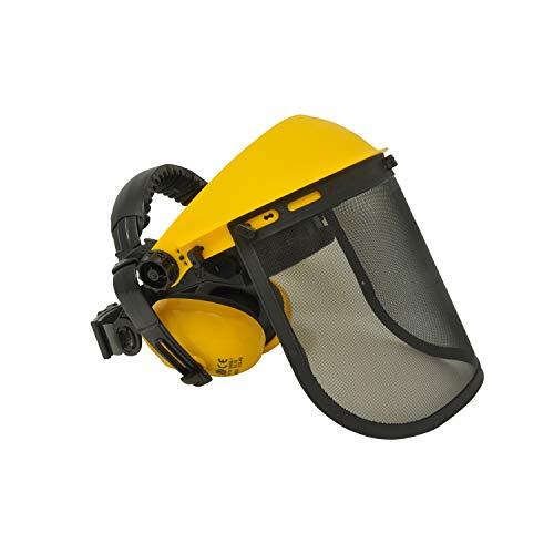 Viwanda Gesichts- und Gehörschutzkombination (Maschenvisier), Top Qualität, CE EN1731, ANSI Z87.1