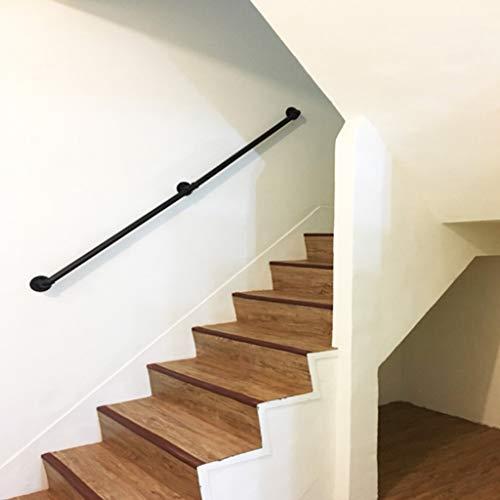 HRXAN-Handlauf Treppenschutzhandlauf, Innen- und Außenstütze Geländer Geländer für ältere Menschen oder Kinder Direkt zum Treppenhaus (30cm-600cm)