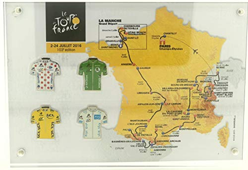 Am Ball Com GmbH Tour de France 2017 – Camiseta de colección rosa premium