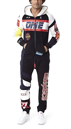 OnePiece Damen Jumpsuit Unisex Moto, Schwarz (Black) - 3