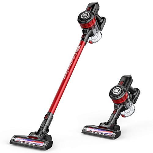 Cordless Vacuum Cleaner 12KPa Powerful Suction 150W Motor 2 in 1 Stick Handheld Vacuum for Home Hard Floor Carpet Car Pet