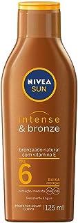 Loção Bronzeadora NIVEA SUN Intense & Bronze FPS6 125ml, Nivea