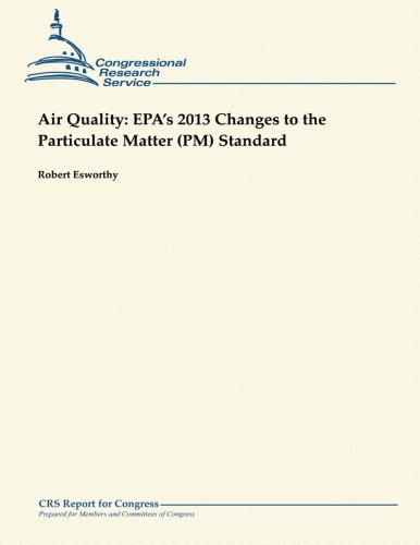 Air Quality:  EPA's 2013 Changes to the Particulate Matter (PM) Standard