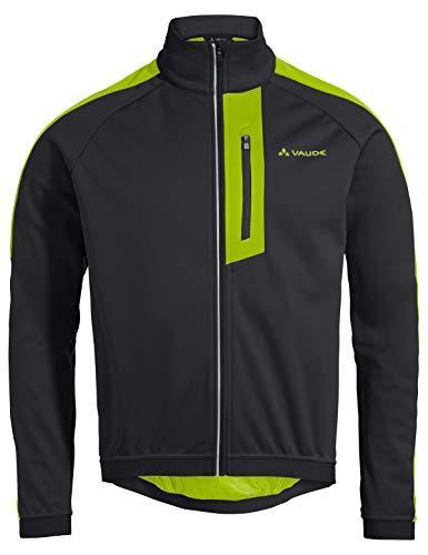 VAUDE Herren Men's Posta Softshell Jacket V Jacke, Black/Chute, L