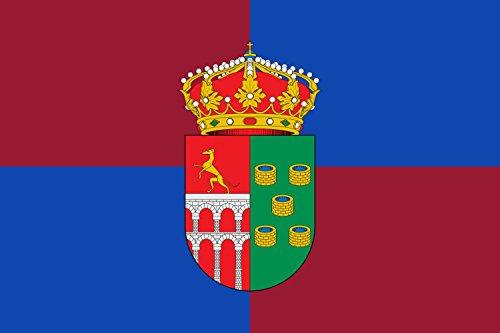 magFlags Bandera Large Municipio de Valmojado Castilla-La Mancha | Bandera Paisaje | 1.35m² | 90x150cm