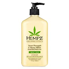 SOOTHING HYDRATION: Pineapple and Honey Melon extracts condition, soften, and hydrate your skin. OIL RICH: Hemp Seed and Jojoba Seed combine with shea butter to enrich, heal, and even skin tone. VITAMIN BOOST: Vitamins A and E help replenish and nour...