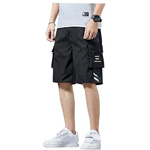 Berrywho Trabajo de los Hombres Pantalones Cortos de Verano Nueva Pantalones Sueltos de Cinco Puntos Pantalones Pantalones