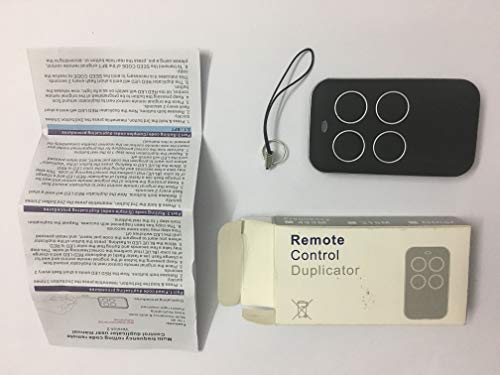 433,92 MHz o 868 MHz Garage Door Remote Control Duplicador Universal Remote, Handset.