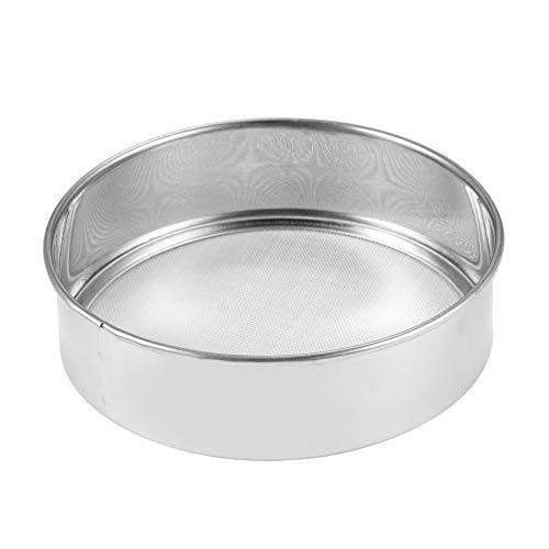 RoxTop Herramienta de la Cocina de la hornada de Acero Inoxidable de Malla Tamiz de la harina para Hornear mecánica Azúcar en Polvo tamizadora colador de Malla Polvo Cake