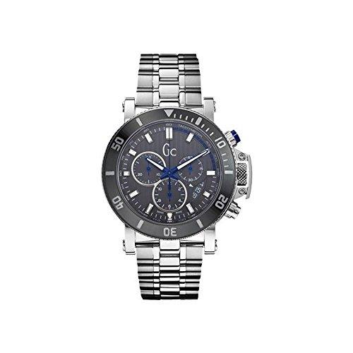 Gc - X95005g5s - Reloj de Pulsera Hombre, Acero Inoxidable, Color Plateado