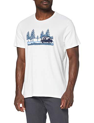 Joules Flynn Camiseta, Crema, L para Hombre