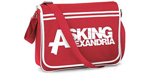 ASKING ALEXANDRIA Sac de coursier officiel Logo l'?cole