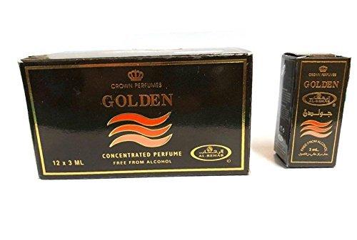 Pack 12 almizcle Perfume Rehab Golden 3 ml 100% aceite