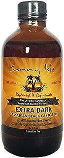 Sunny Isle Natural Extra Dark Jamaican Black Castor Oil (4 oz)