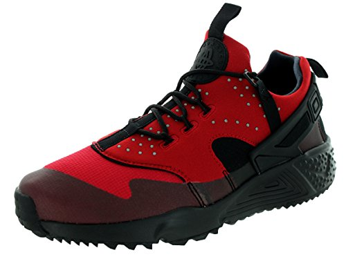 Nike Herren Air Huarache Utility Laufschuhe, Rot/Schwarz (Gym Rot/Schwarz), 45 1/2 EU