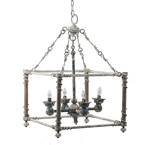 Liunce Steampunk Industrial American Country Pendant Light Wrought Iron Retro Hanging Lamp Restaurant Living Room Cafe Personality Chandelier Lighting steampunk buy now online