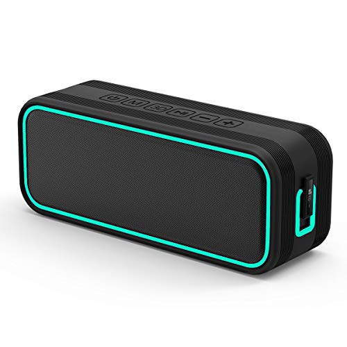 EC Technology Altoparlante Bluetooth Bass Enceinte Bluetooth 4.0 + Batterie Externe 2400mAh