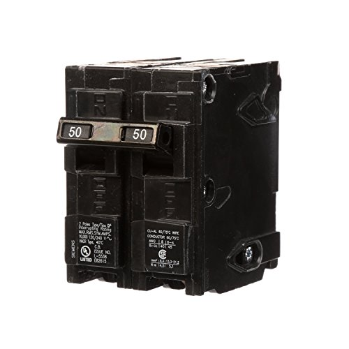 Q250 50-Amp Double Pole Type QP Circuit Breaker