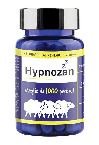 Hypnozan - sonniferi per 60 giorni. Capsule per dormire. Fonte di melatonina di alta qualità, melissa, triptofano, ashwagandha.