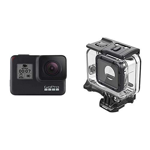 Super Suit Accessoire Officiel GoPro & GoPro HERO7 Black - Caméra numérique embarquée étanche avec écran tactilestabilisation intégrée