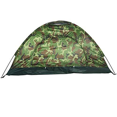 Hoseten Zelte für Camping, UV-Schutz 2 Personen Tarnzelt, Camping Zelt, für Camping Wanderstrand