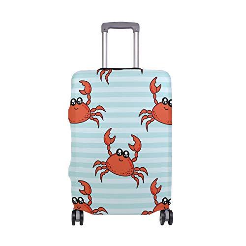 Ajinga, copertura per valigia da viaggio con animali natalizi, misura S 45,7-50,8 cm