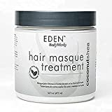 EDEN BodyWorks Coconut Shea Moisturizing Hair Masque Treatment | 16 oz | Hydrate, Protect, Soften, Add Shine - Packaging May Vary
