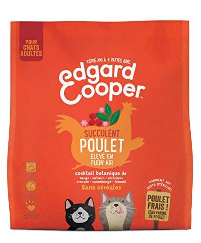 classement un comparer Edgard & Cooper Aliment naturel pour chats adultes Sans céréales, hypoallergénique,…