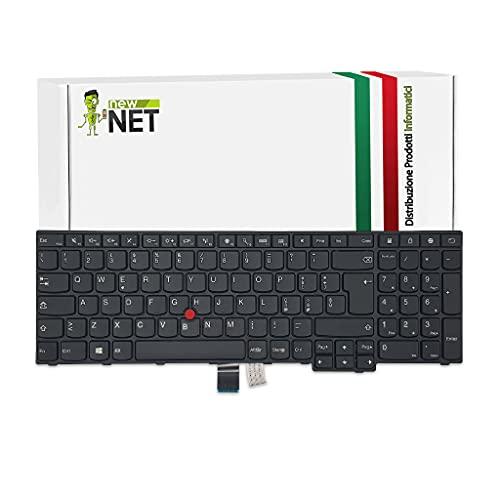 new net Keyboards/Tastiera Compatibile con Notebook Lenovo Thinkpad E550 E555 E565 E560 E550C[ Layout ITA - con Frame ]