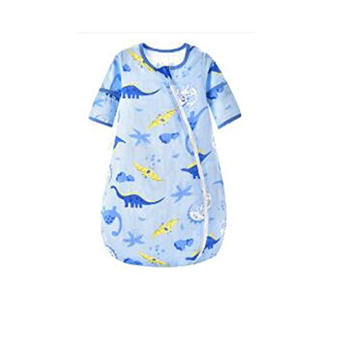 LXX Bebé recién Nacido Saco de Dormir de la Primavera y Delgado Otoño Interior Acampar al Aire Libre Uso de Pijamas Niños Bolsas Unisex Niño 1 Pc (Color : Blue, tamaño : XX-Large)