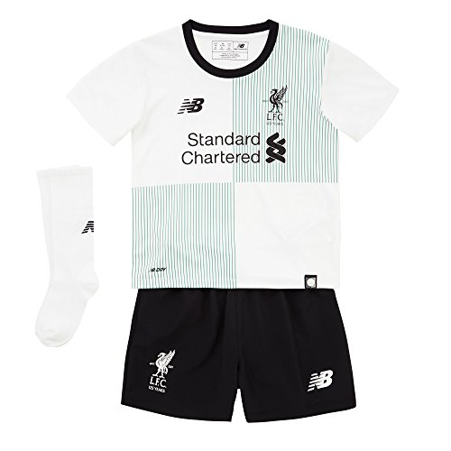 New Balance Liverpool FC 2017/18 Away Kit Kinder, Weiß, 18-24 Monate