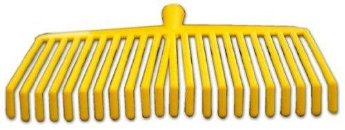 Scopa Rastrello 22 denti in PVC per la raccolta olive – Misura: 39 cm