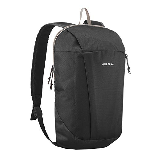 QUECHUA Nature Hiking Backpack 10 L NH100 - 10 L - Carbon Gray
