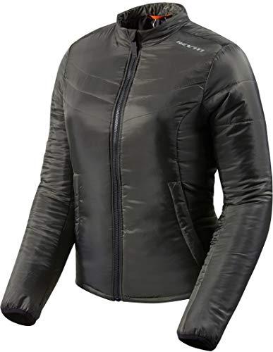 REV'IT! Motorradjacke mit Protektoren Motorrad Jacke Core Damen Textiljacke schwarz/Oliv L, Tourer, Ganzjährig