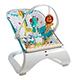 Fisher-Price Colourful Carnival Comfort Curve Bouncer, Multicolour, of